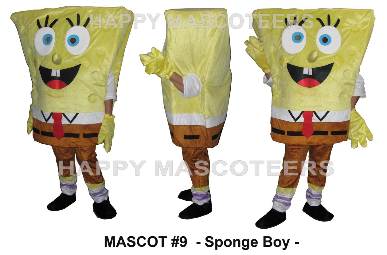 sponge boy